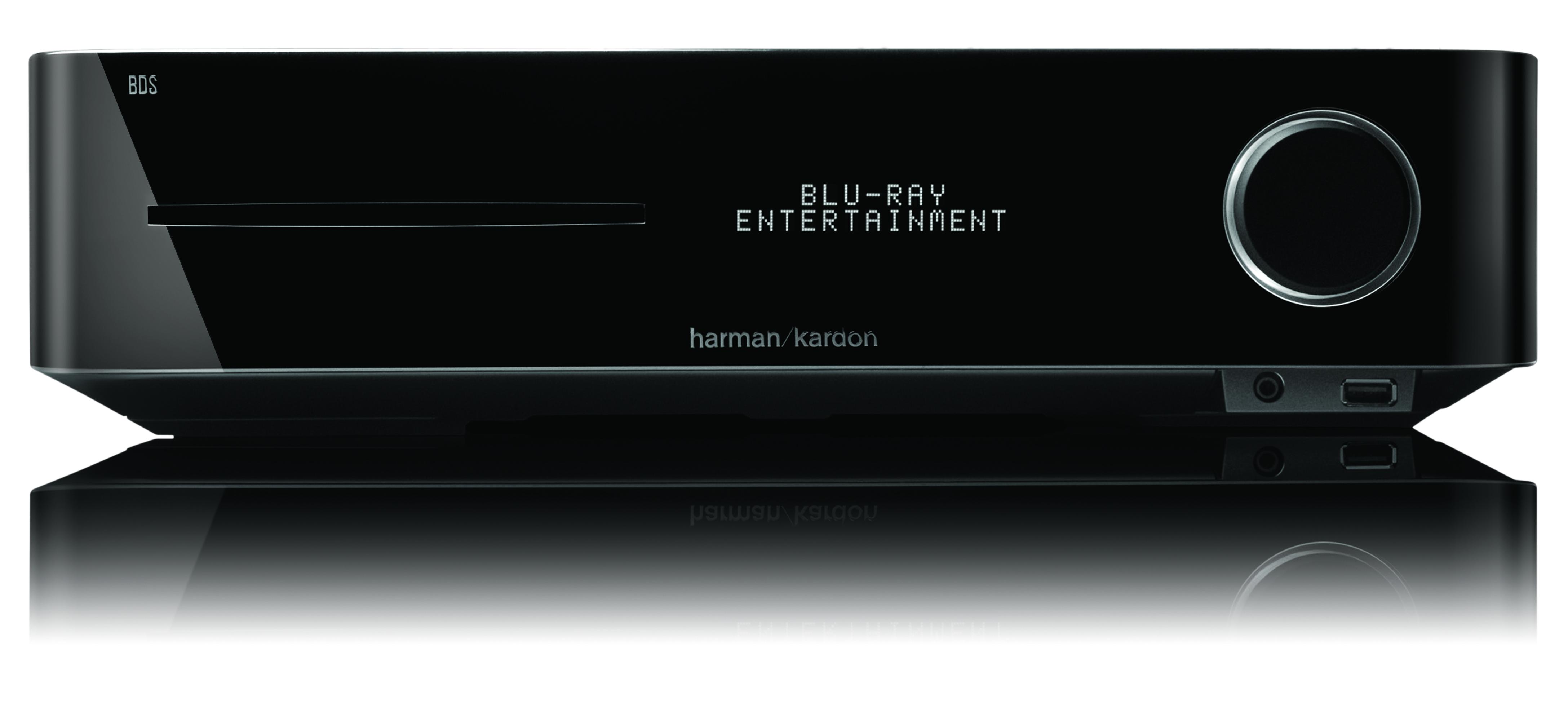 harman kardon BDS-Systeme bringen unkomplizierten Blu-ray Genuss