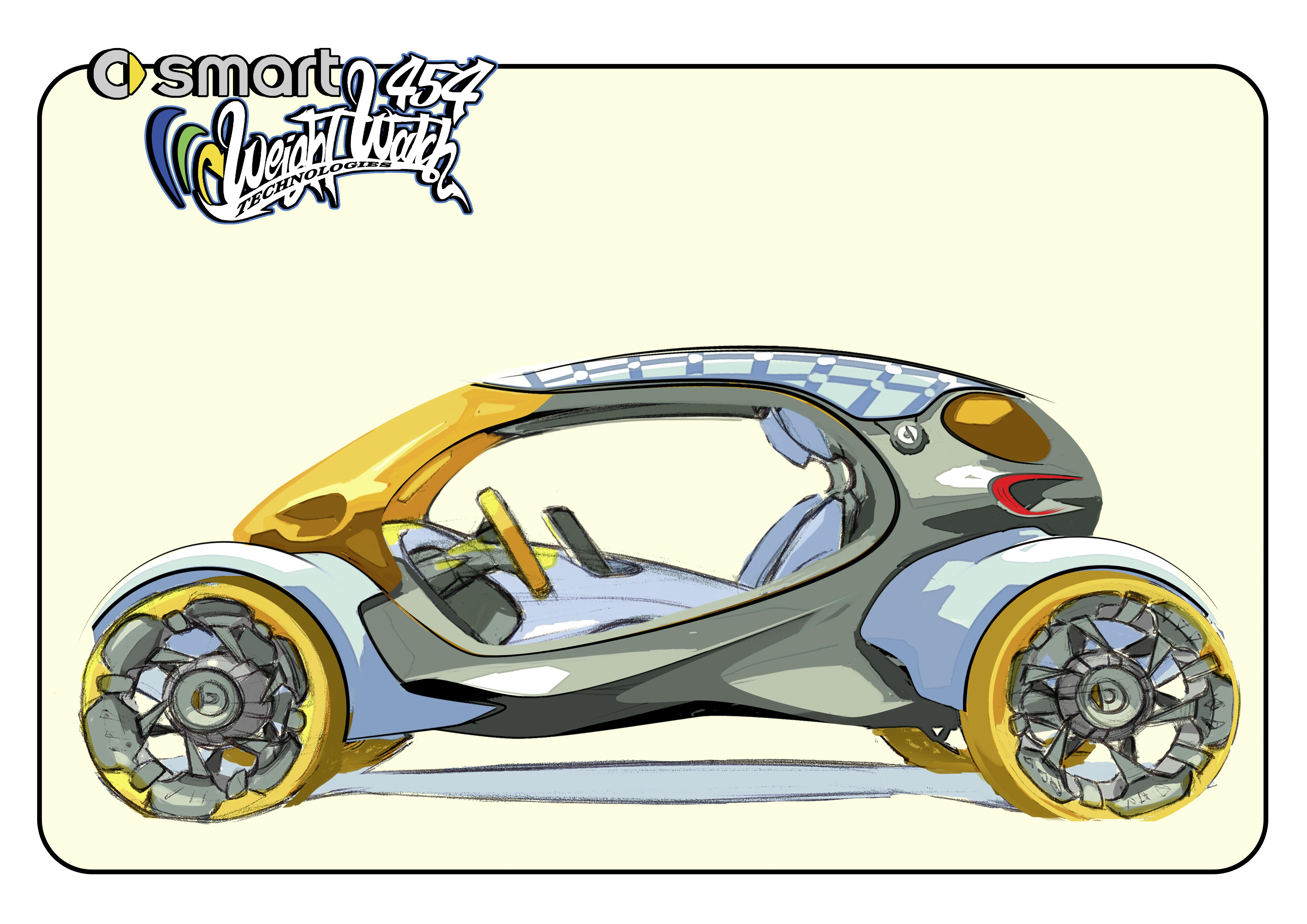 Smart 454 - Leichtbaukonzept zur LA Motor Show