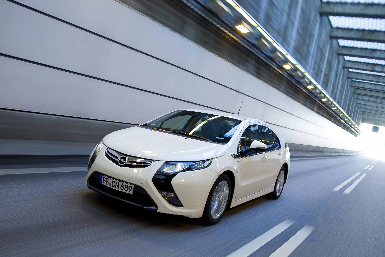 Der Opel Ampera ist ab sofort vorbestellbar