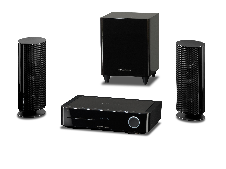 harman/kardon BDS 400 heißt die Einstiegslösung mit einem Stereo-Lautsprechersystem und virtuellem Raumklang