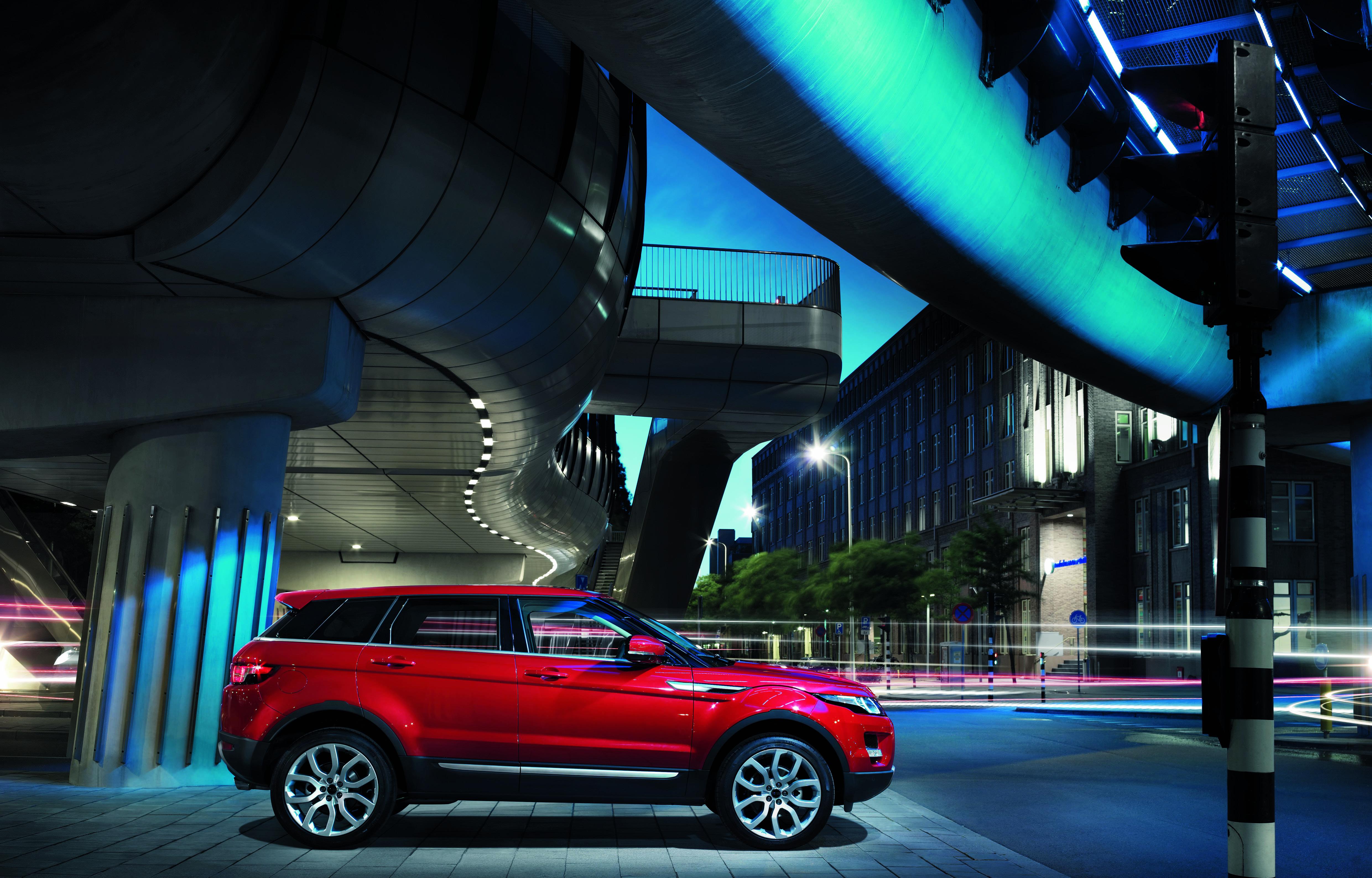 Den Range Rover Evoque wird es auch mit fünf Türen geben