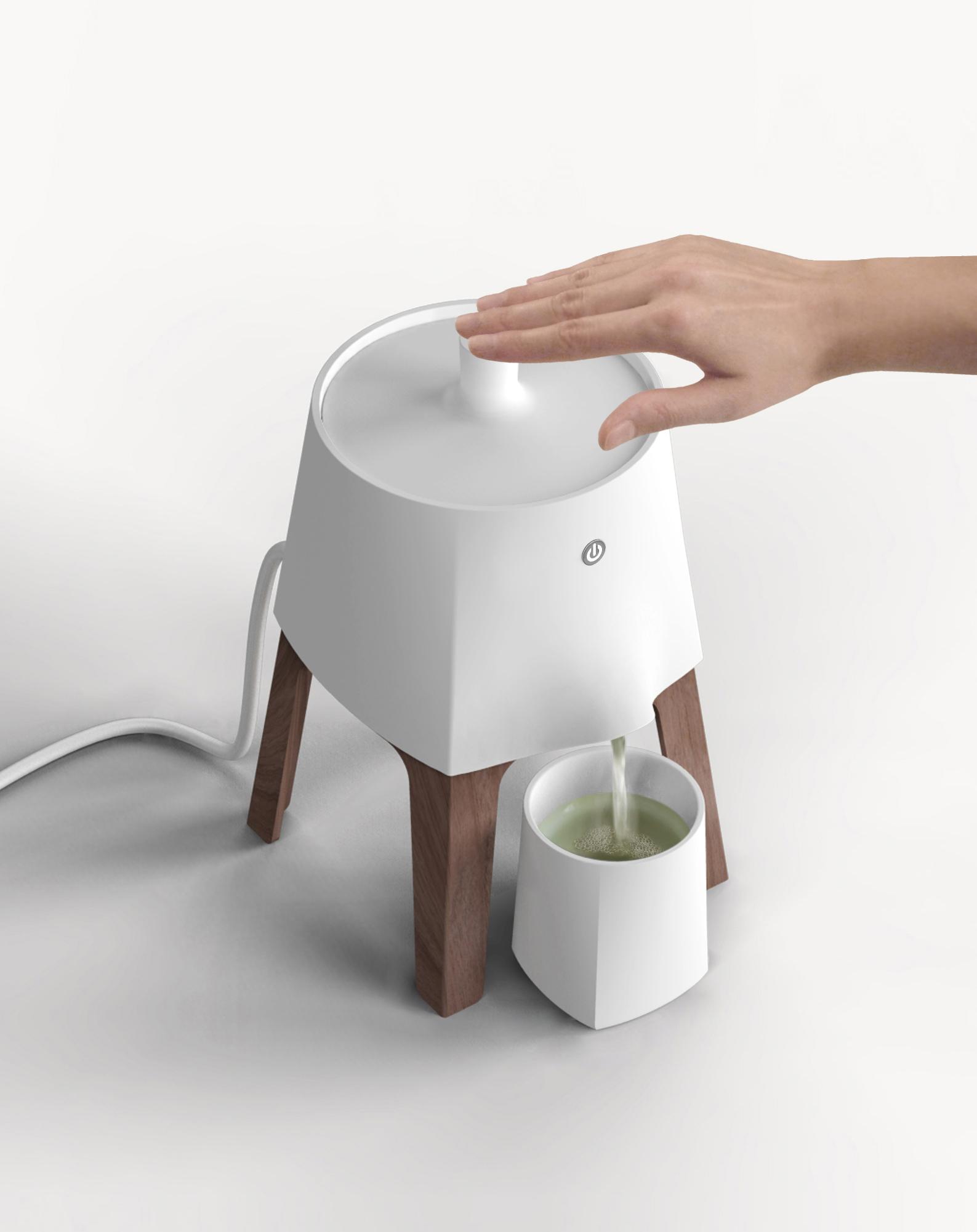 Théa - Teemaschinenkonzept von Stephanie Lang