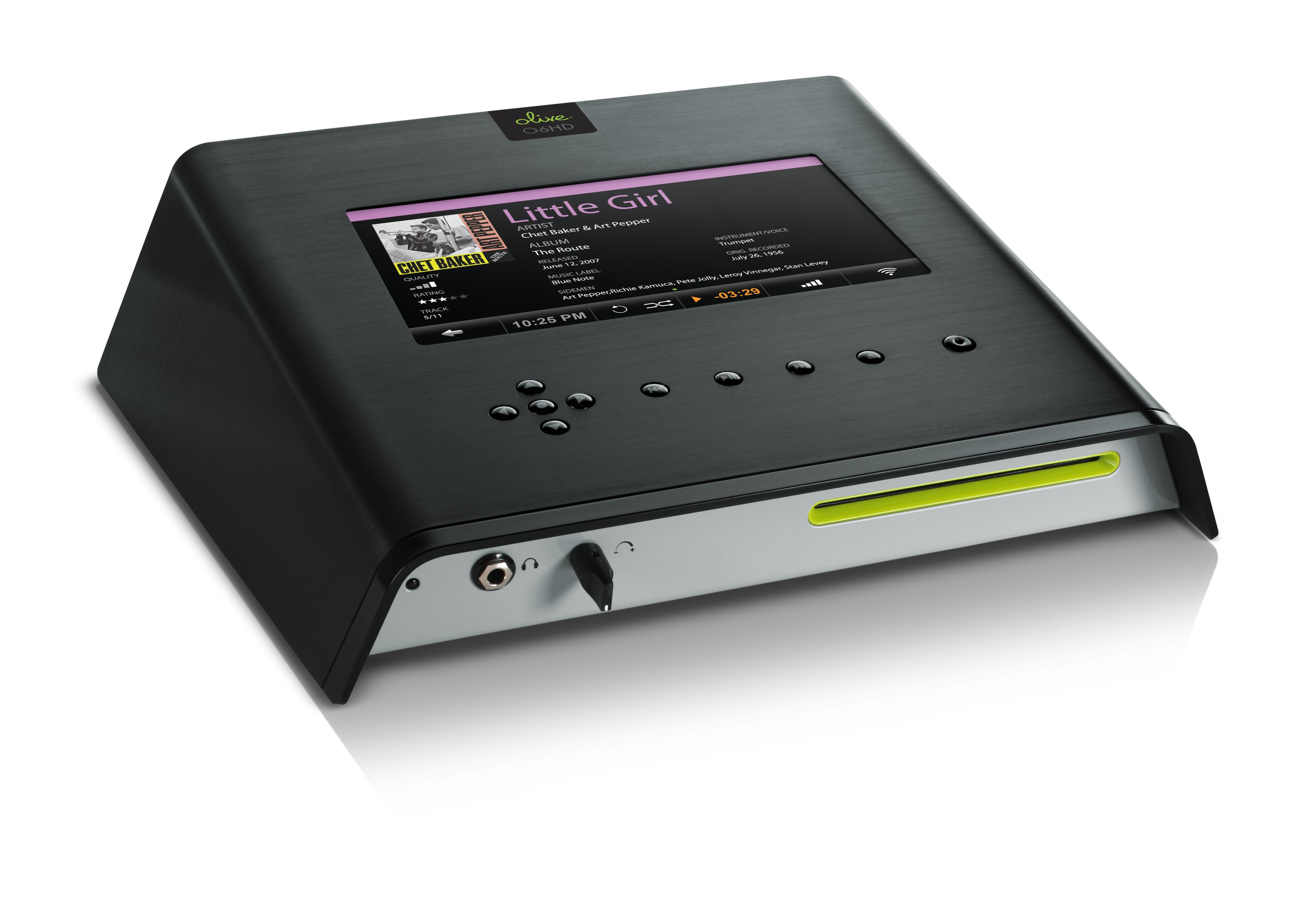 Olive 06HD - Ein audiophiler Musikserver mit elegantem Design
