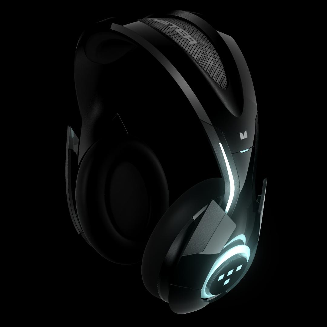 Monster Cable T1 - Ein Kopfhörer im Stil von Tron
