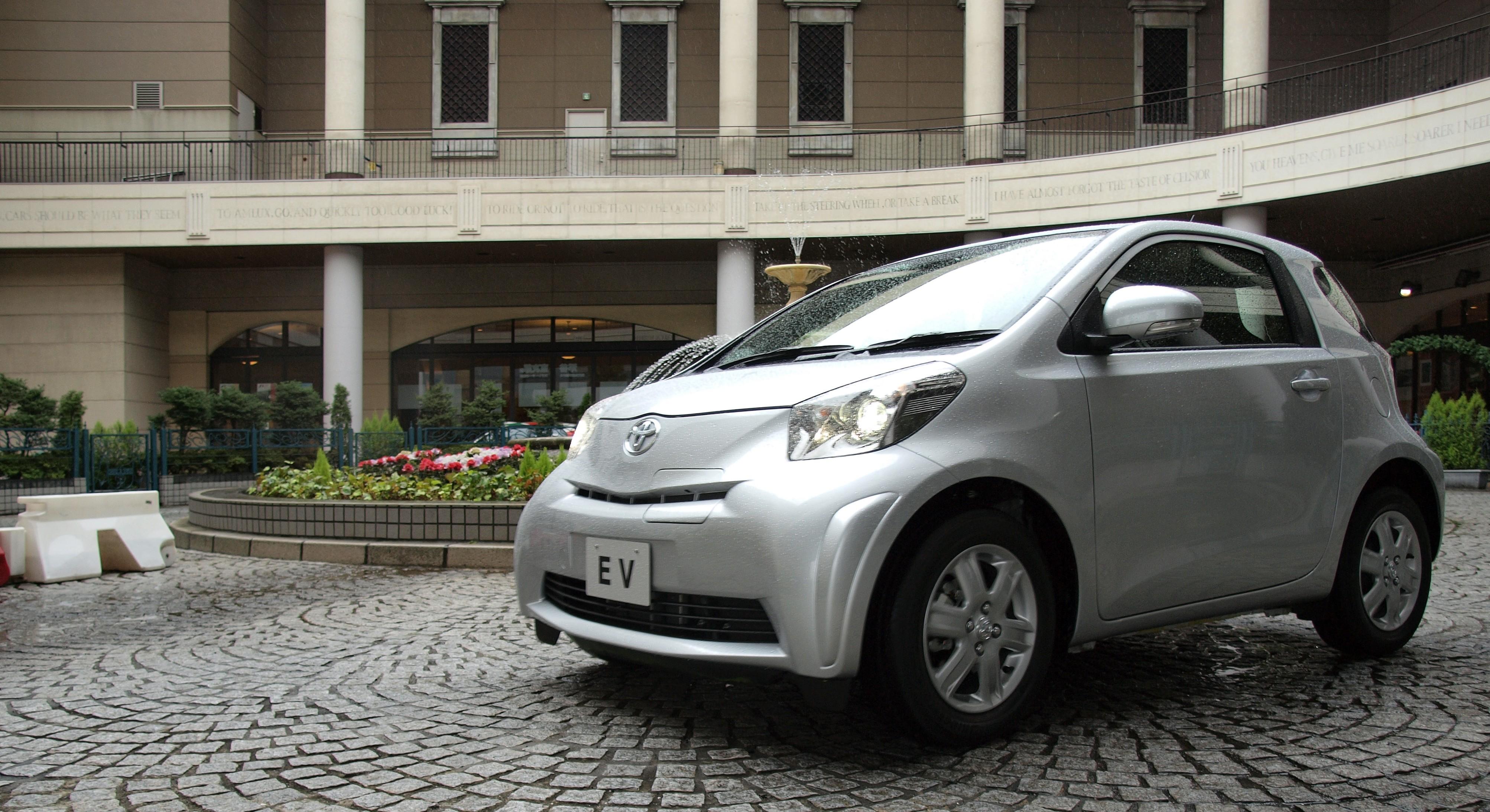 Toyotas IQ soll 2012 auch als rein elektrische Variante erhältlich sein