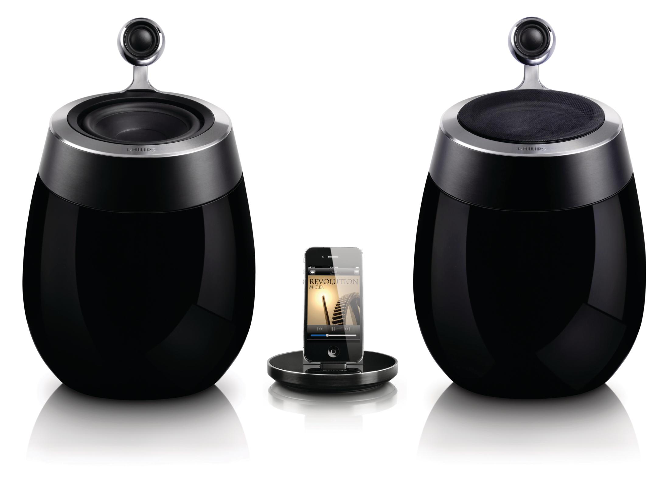 Philips Fidelio SoundSphere: Designlautsprecher mit AirPlay-Technologie