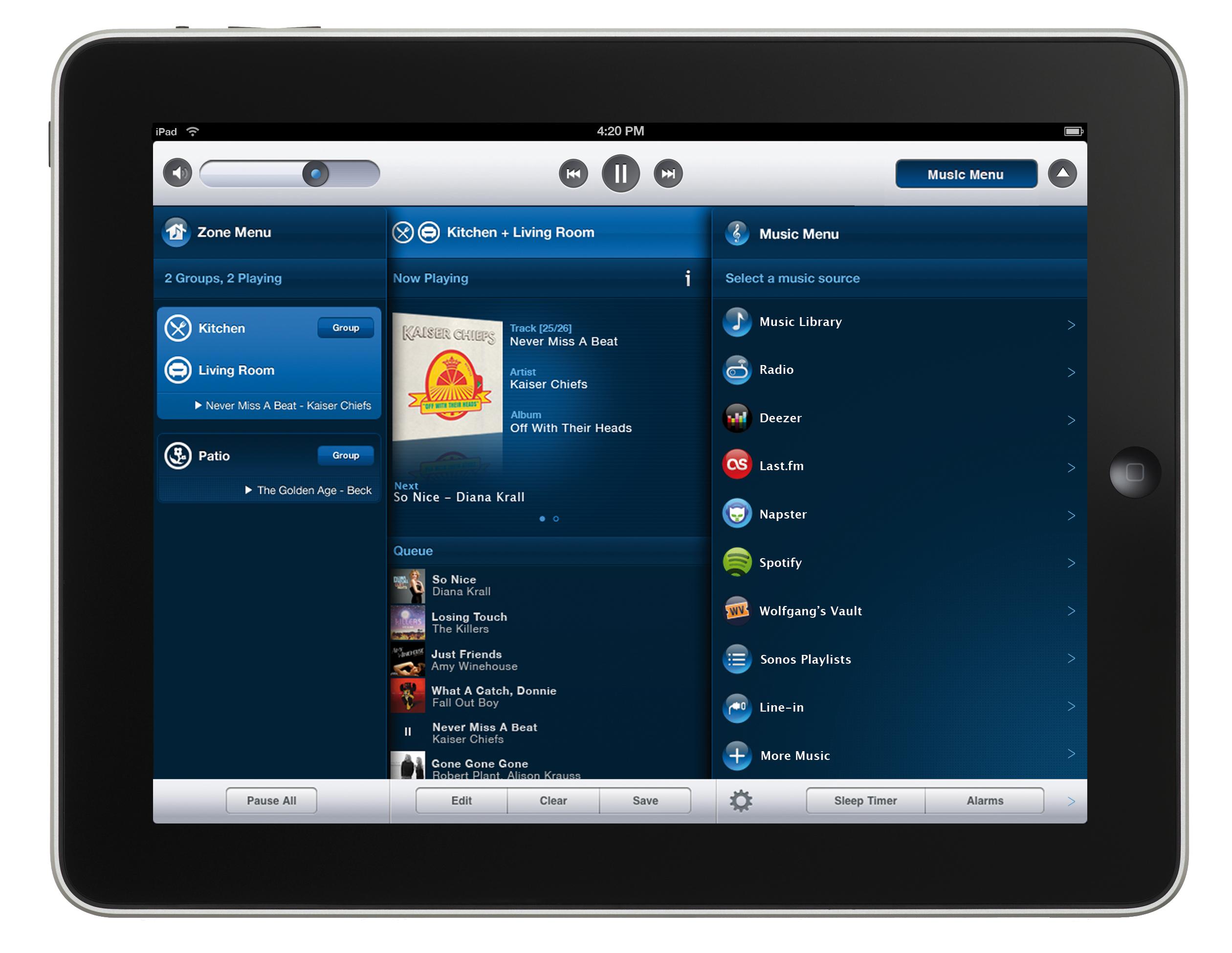 Die Apps für iPad, iPhone, iPod Touch und Android erlauben den günstigen Einstieg
