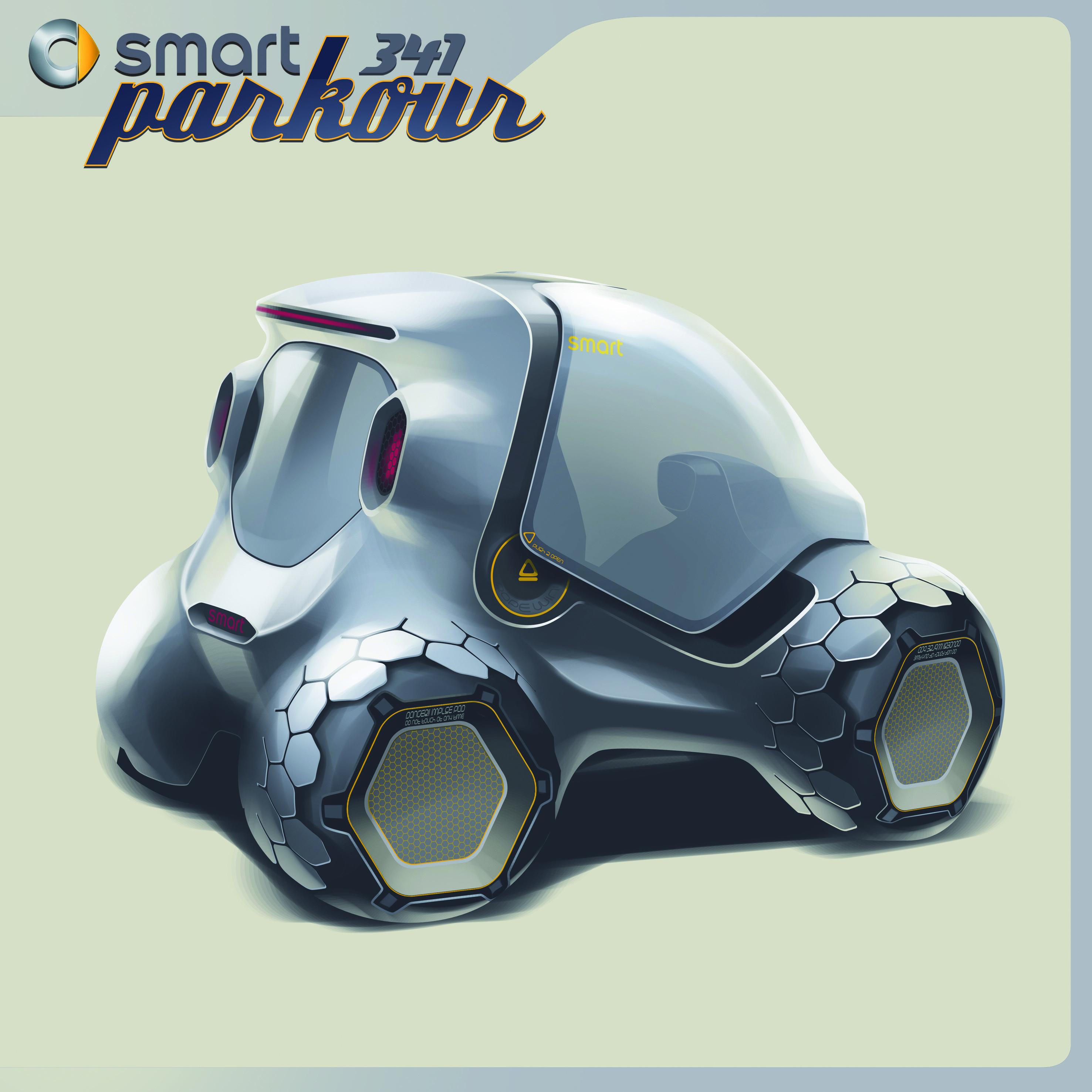 Smart 341Parkour