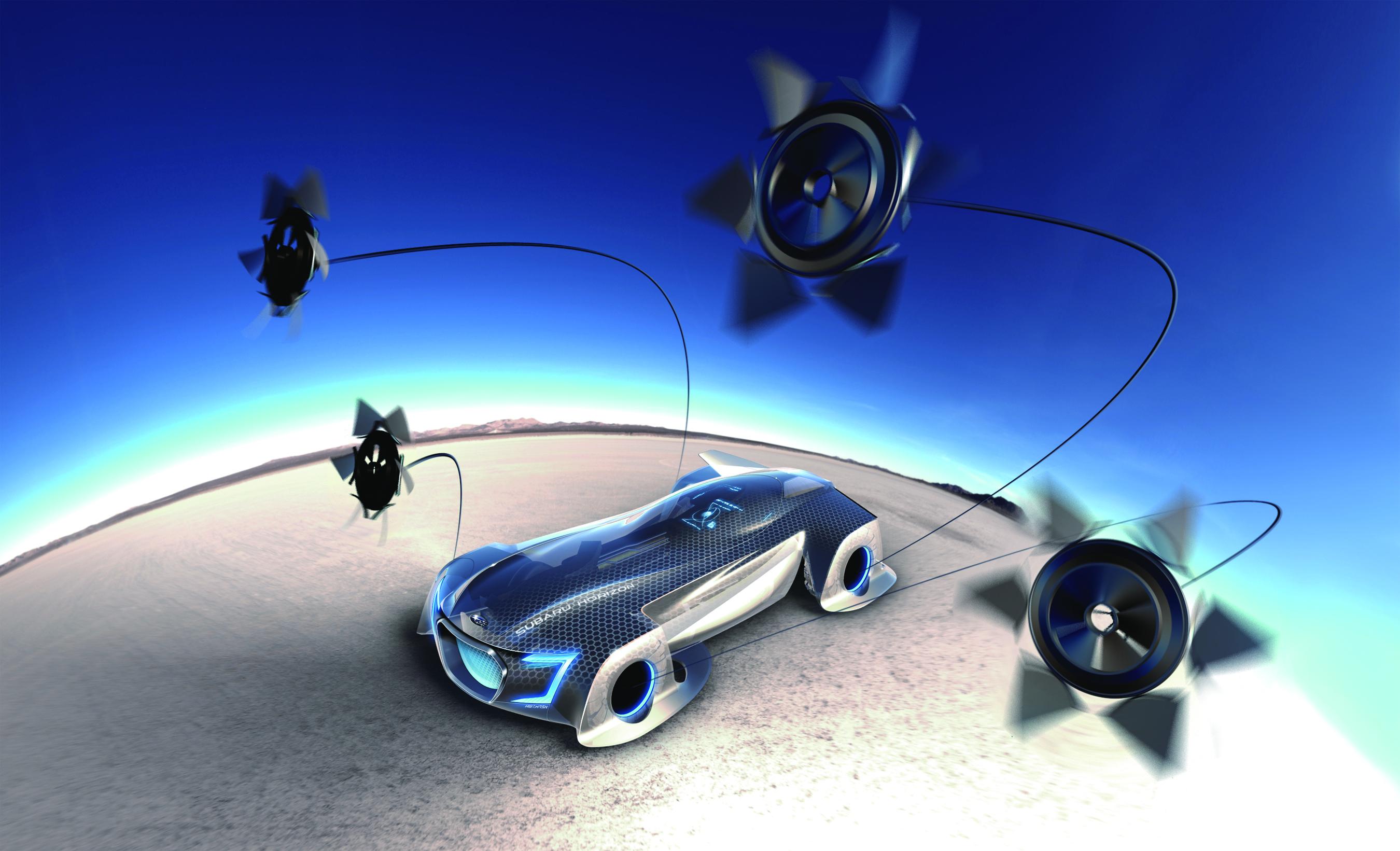 """Der Subaru Horizon wurde für den Film """"Divided"""" ersonnen"""