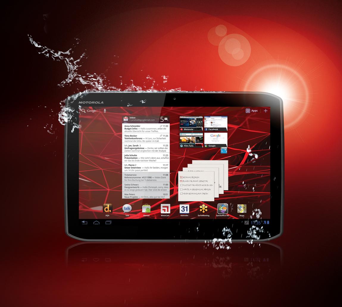 Motorolas XOOM 2 soll sich im boomenden Tablet-Markt behaupten