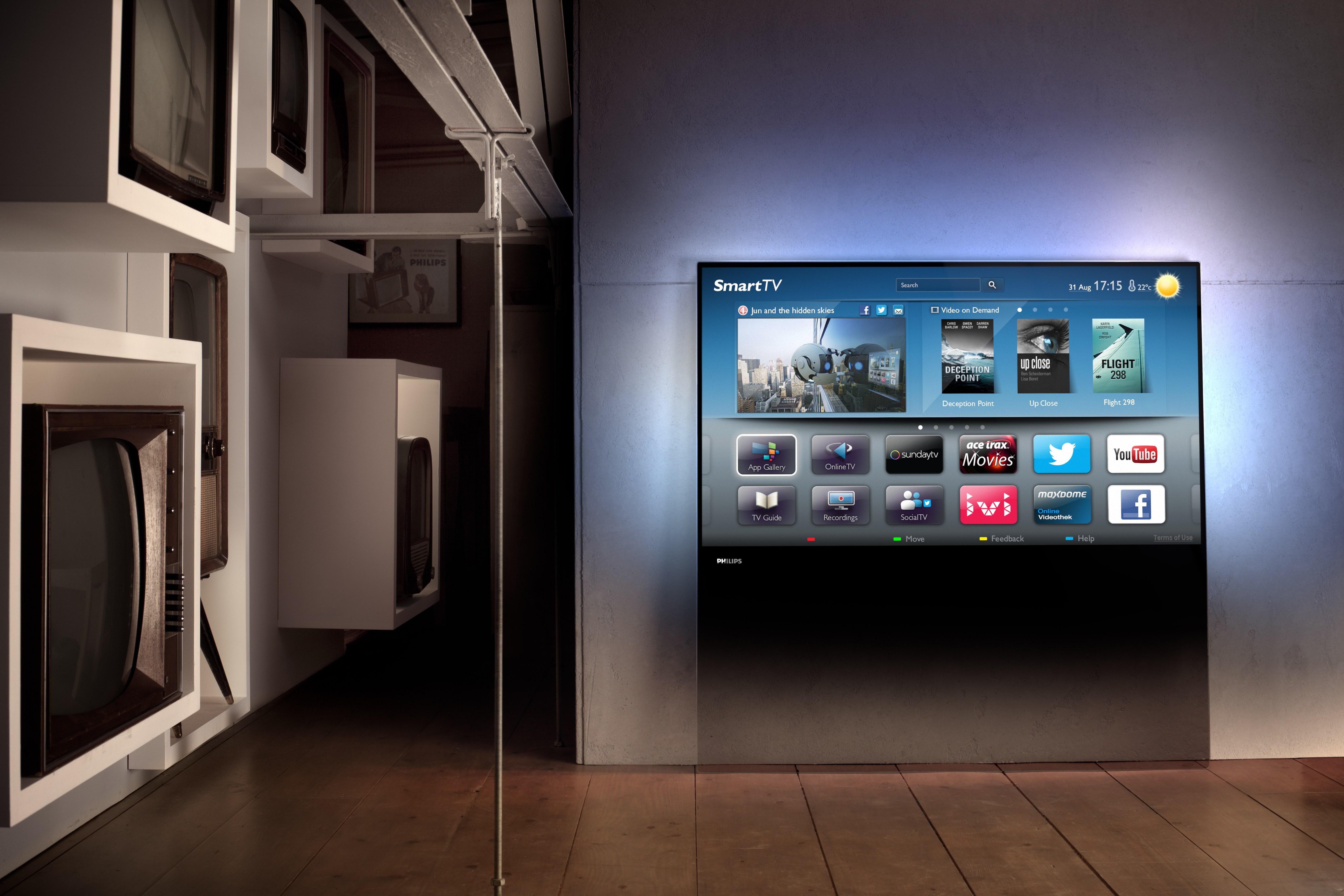 philips designline - prime time im wohnzimmer, Deko ideen