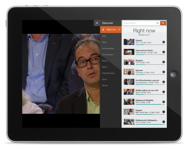 Magine auf dem iPad - Nur ein Weg, um demnächst Live-TV zu genießen