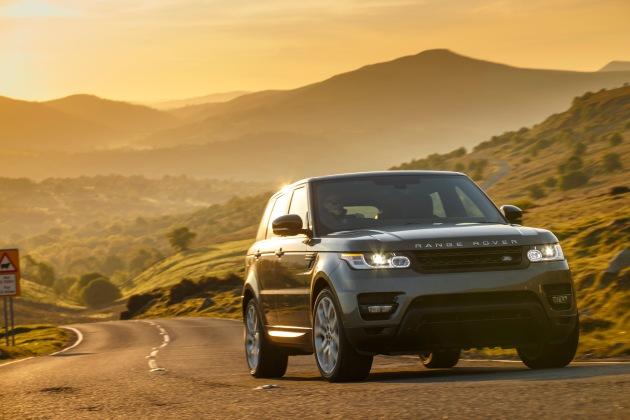 Mit dem neuen Range Rover Sport kommt Dynamik ins Gelände