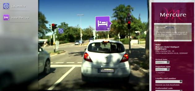 Müde? Hotelinfos aus dem Internet bereichern bald den Informationsfluss im Auto